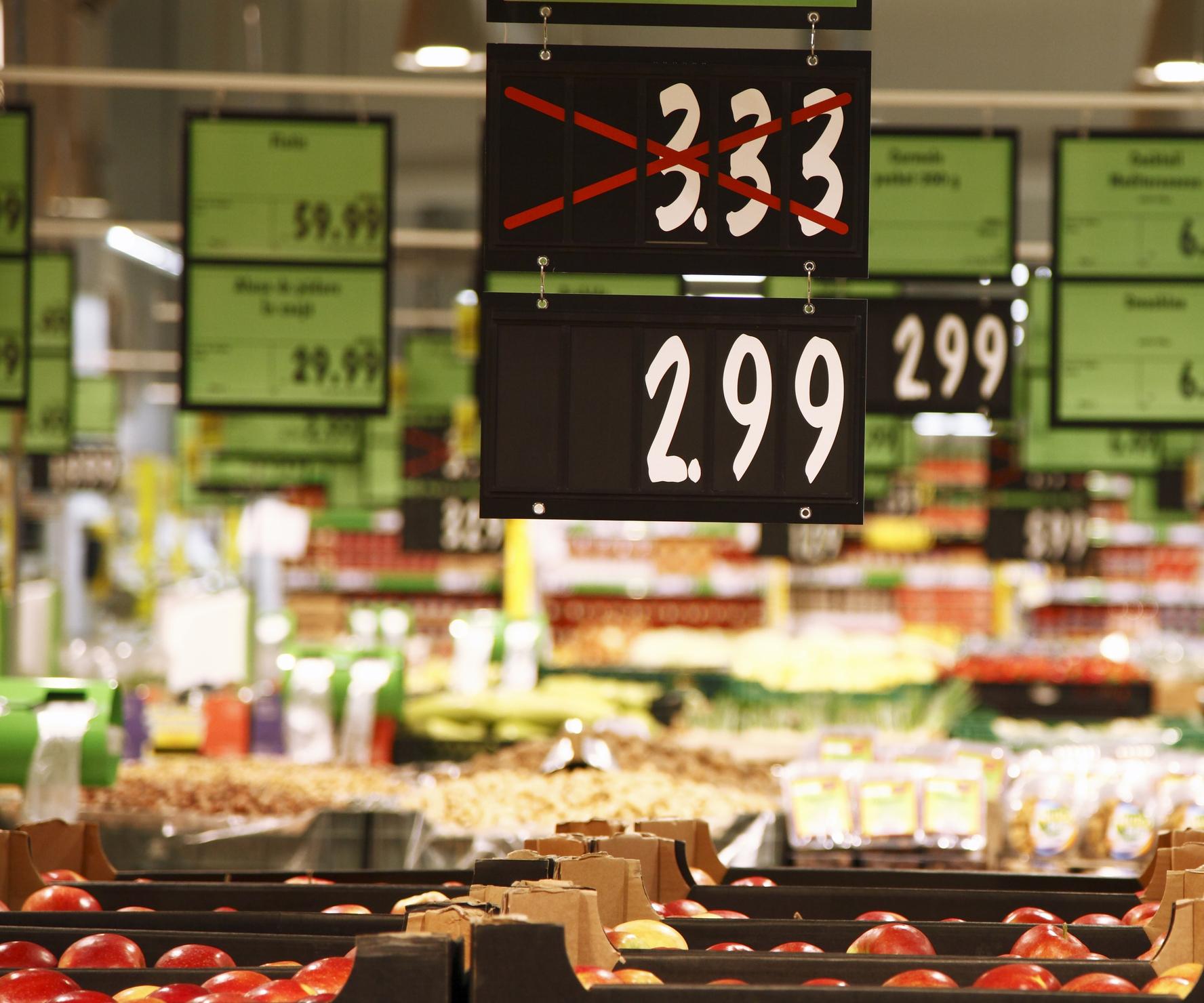 Rebaixamento de preço: importância para seu supermercado