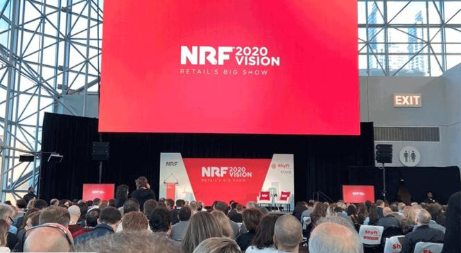 NRF 2020, saiba o que aconteceu no primeiro dia da maior feira varejista