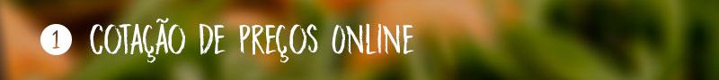 1) Cotação de Preços Online